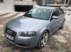 Audi A3 automobilio nuoma