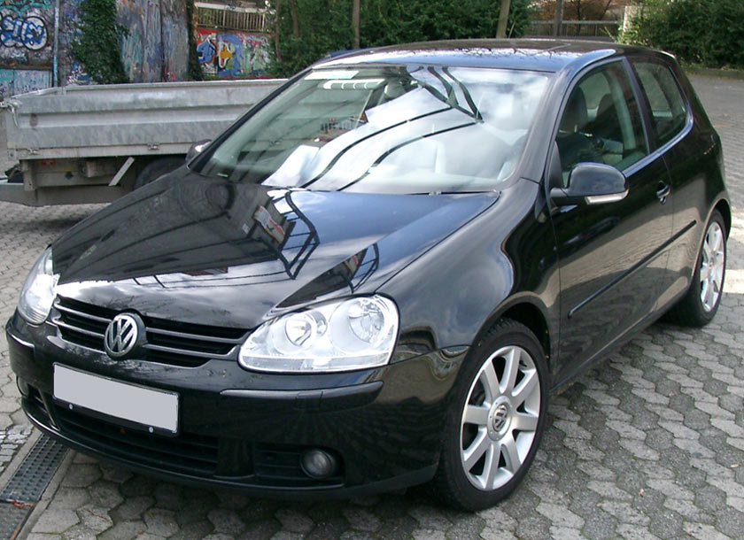 Volkswagen Golf V automobilio nuoma