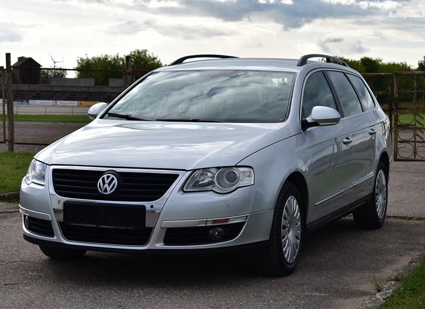 Volkswagen Passat 2007 automobilio nuoma